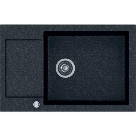Zlew Kernau KGSH 6078 1B1D Black Metalic 16787