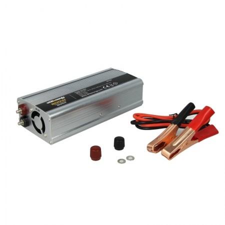 PRZETWORNICA SAMOCHODOWA DC 24V-AC 230V 800W Z USB